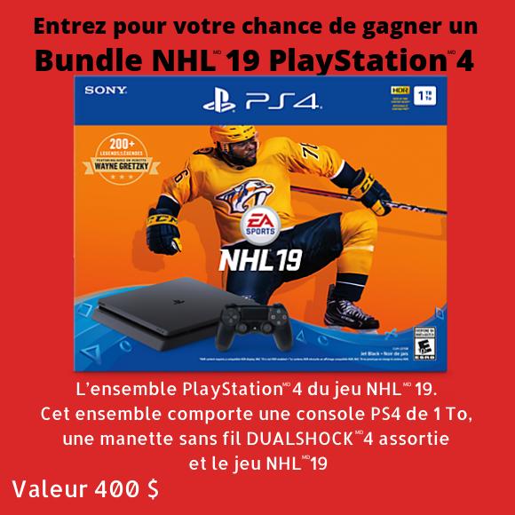 Bundle NHL 19 PlayStation 4 Concour