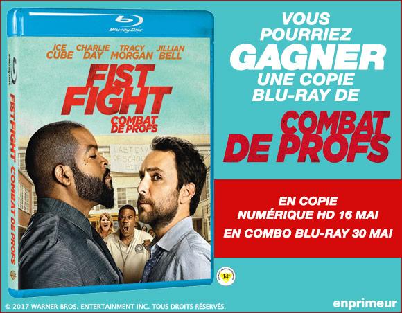 Concours Blu-ray Combat De Profs