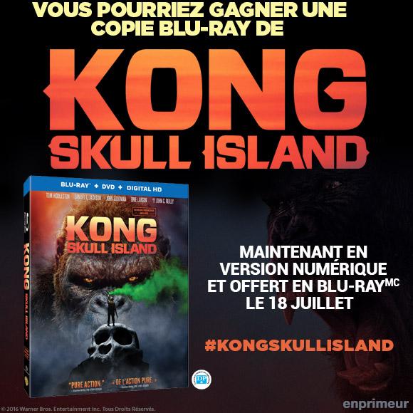 Concours Blu-ray KONG SKULL ISLAND