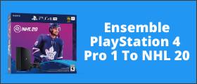 Ensemble PlayStation 4  Pro 1 To NHL 20