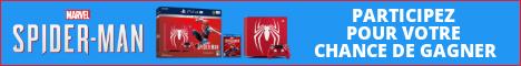 PlayStation 4 Pro de 1 To édition limitée avec Spider-Man de Marvel Concour